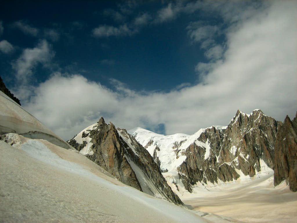 Tour Ronde - Mont Blanc - Mont Maudit