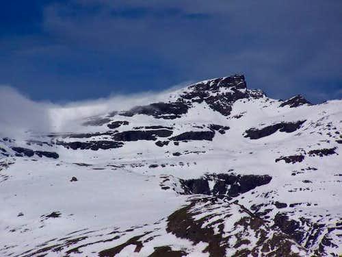 The Pico Veleta from the...