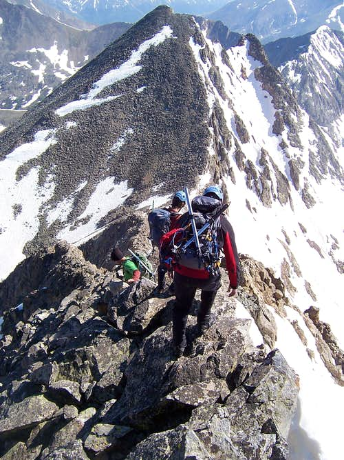 Ice Mt - N Apostle Ridge