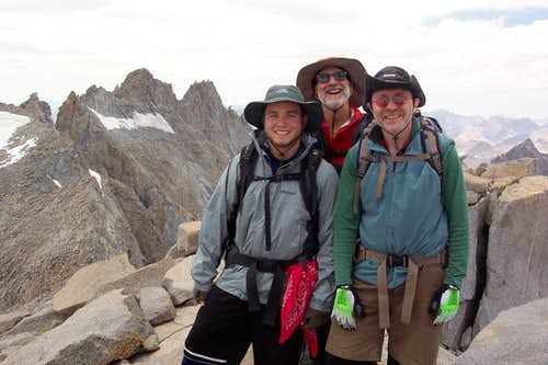 Mt Sill Summit Via Bishop,Thunderbolt,Potluck Passes