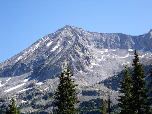 West Face from Lead King Basin