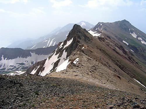 Khers Char 4030 m & Peak 3990 m