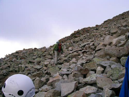 Mount Wilson Climbing Condition