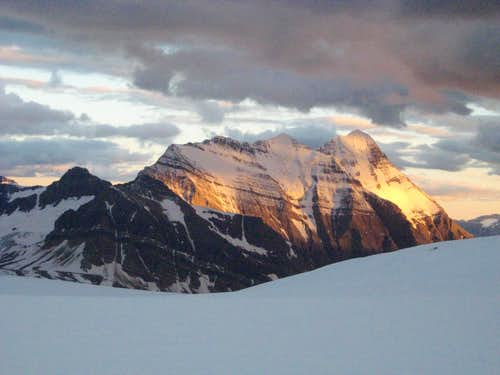 Mount Bryce from the Columbia Icefield