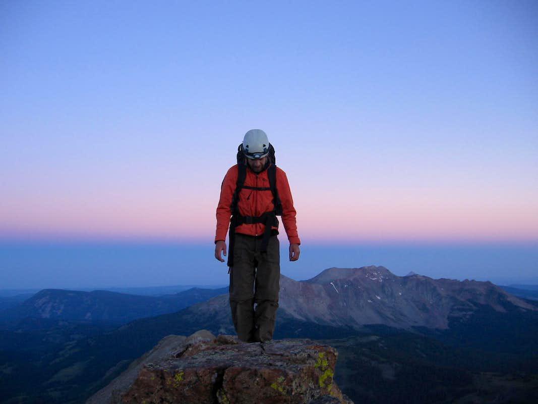 Atop the West Ridge