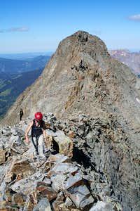 Traversing El Diente-Mount Wilson