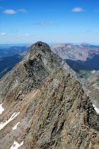 El Diente Mount Wilson Ridge