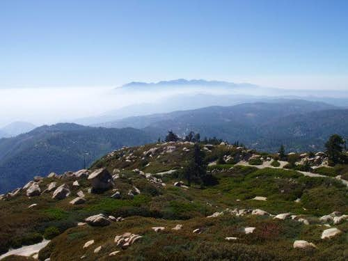Cucamonga and Baldy from Keller Peak