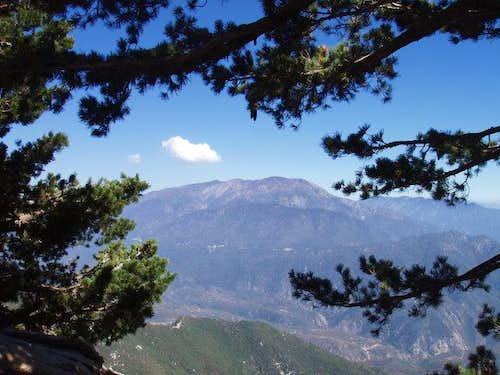 San Bernardino Peak from Keller