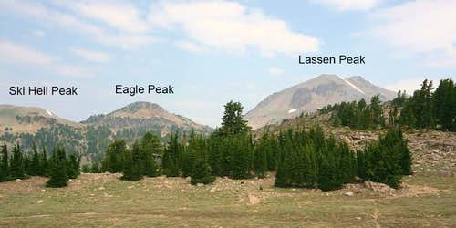 Ski Heil, Eagle and Lassen