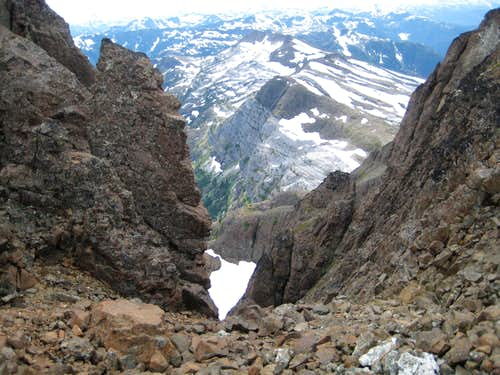 Mt McBride Approach Route