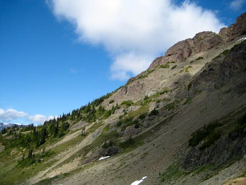 Mt McBride - Key Traverse