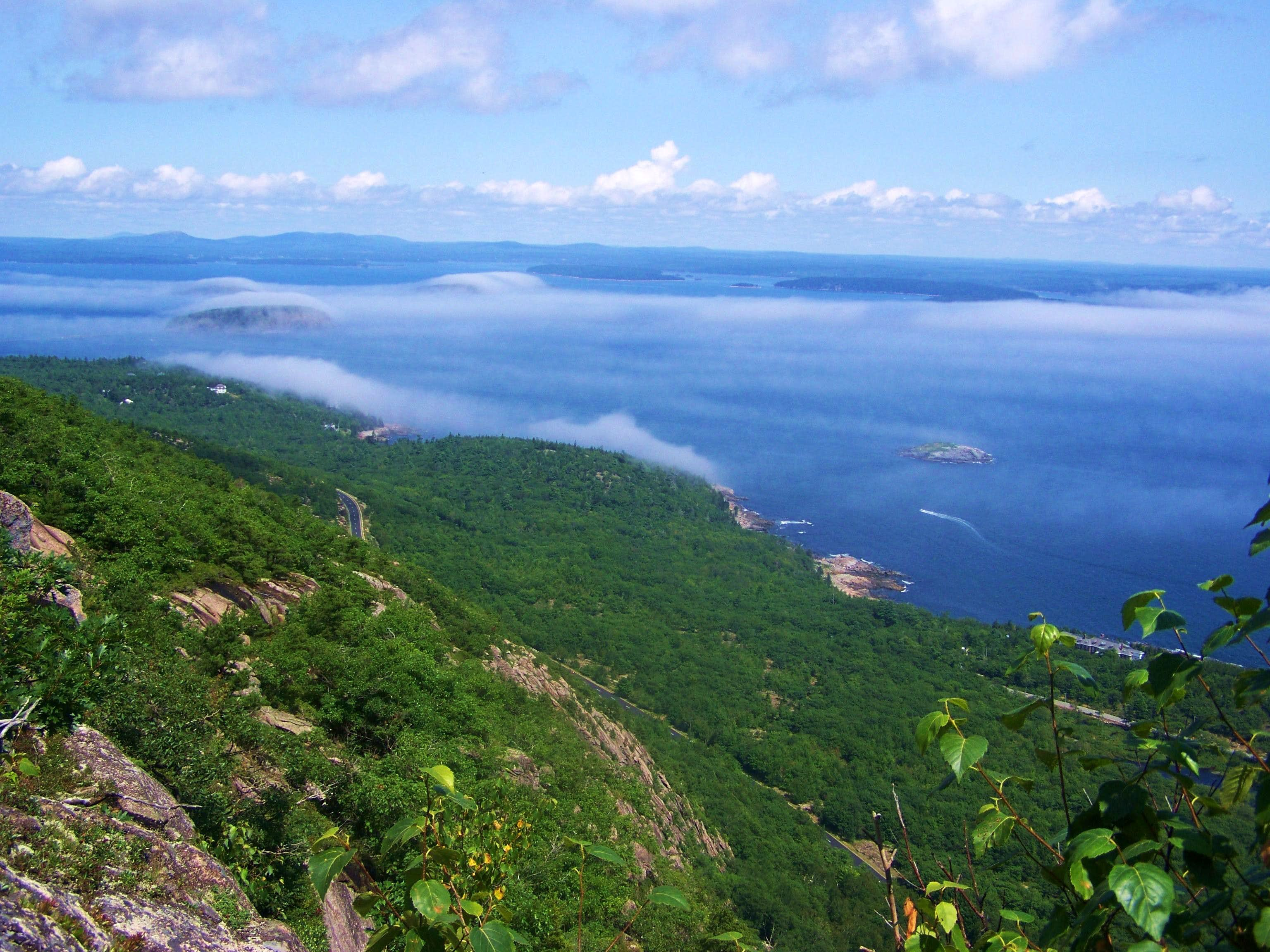 Champlain Mtn, via the Precipice Trail