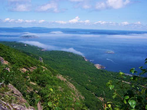 Champlain Mtn, via the Precipice Trail