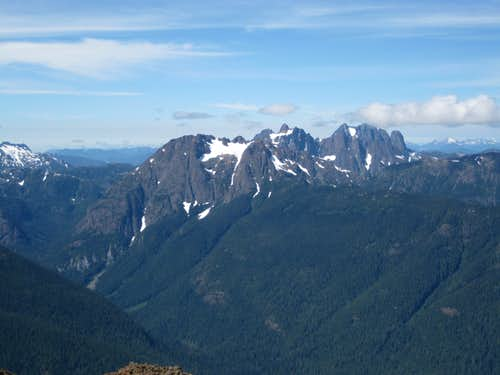 Rambler Peak & Mt Colonel Foster