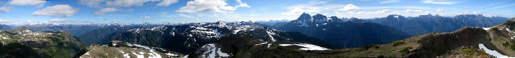 Morrison Spire Summit Panorama