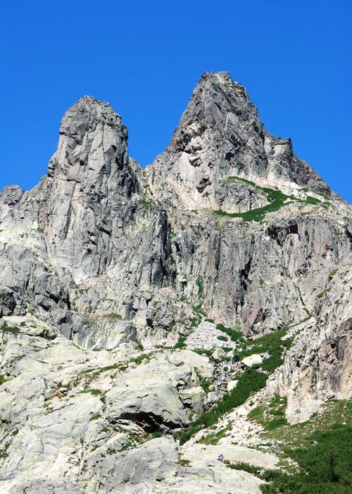 Punta Capitellu (2245m - East Face)