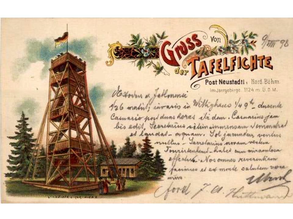 Old postcard (Smrk)...