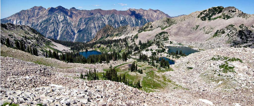 All the Red Pine Lakes