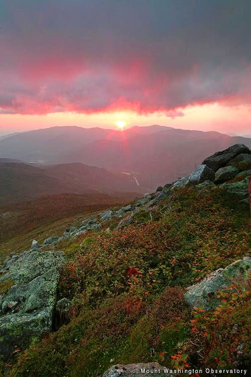 Sunrise From Boott Spur