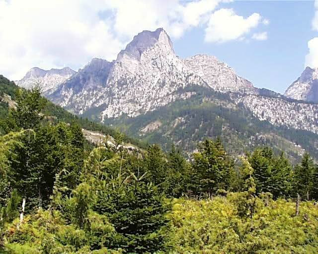 Albanian or South Dinaric Alps