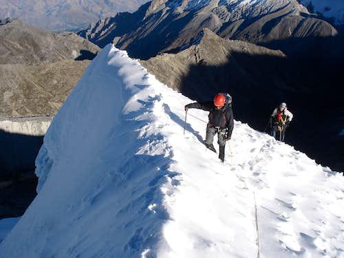 Summit of Ishinca