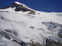 Lookin up at Eldorado before ski