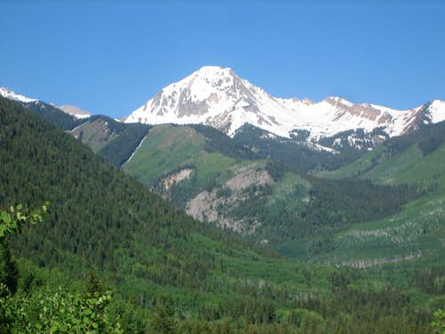 Mount Daly, June 2008