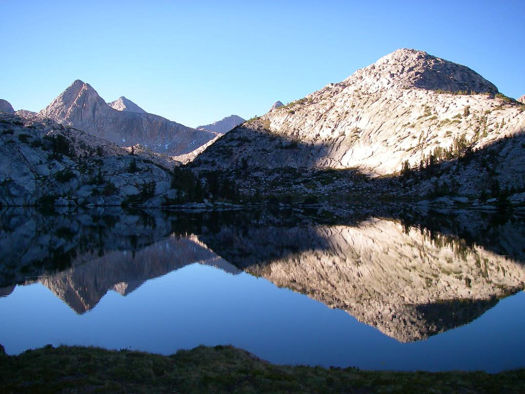 Reflection off of Evolution Lake