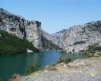 Ulez Dam Bluffs  - Ulez Reservoir