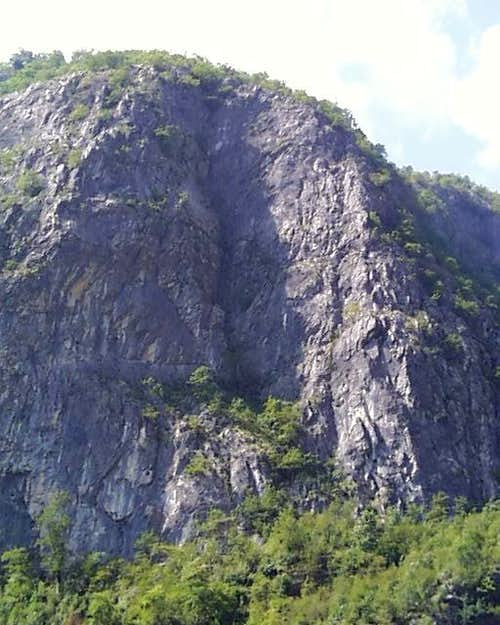 Valbona Gorge Crags