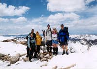From the summit of Quandary...