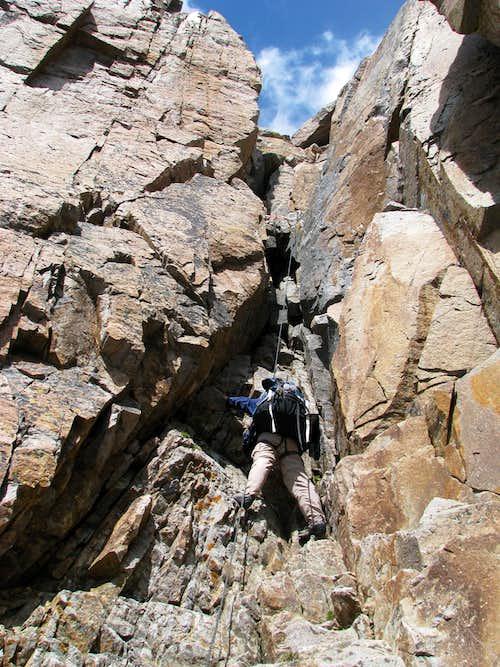 Granite Peak Chimney