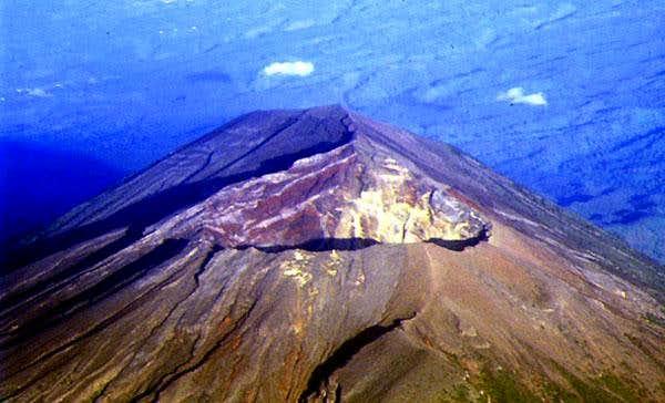 Summit of Mt Agung (photo by...