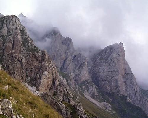 Korabi Cirque - Summit Ridge