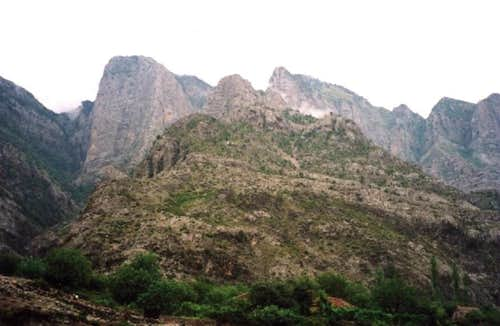 Tamare Escarpments