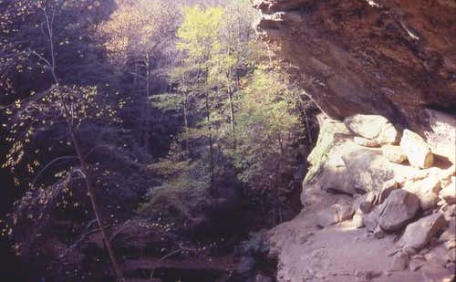Old mans cave- a popular...