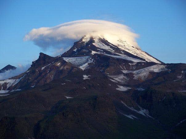 Zimina volcano