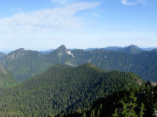 Mount Phelps, McClain Peaks, Red Mountain