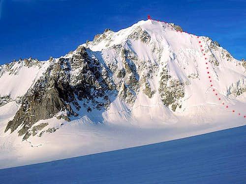Aiguille d'Argentière North Face