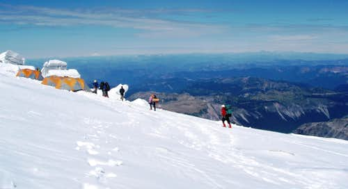 Guided Climb Camp on Mt. Rainier