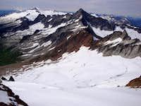 Quien Sabe Glacier and beyond