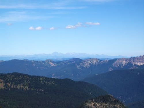 From Dege Peak