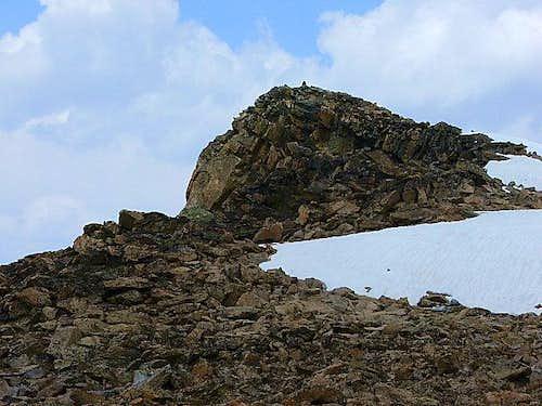 Northwest summit 11409'