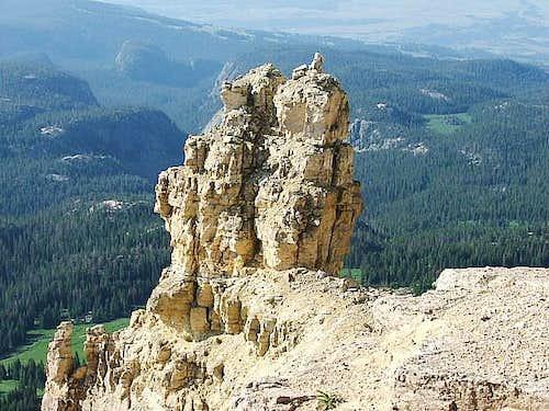 Beartooth Butte tower