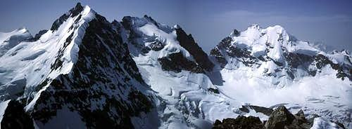 panoramic from the summit :...