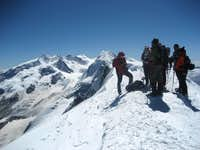 Breithorn - summit
