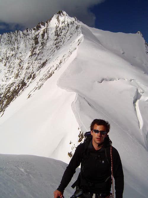 Nadelhorn SE ridge