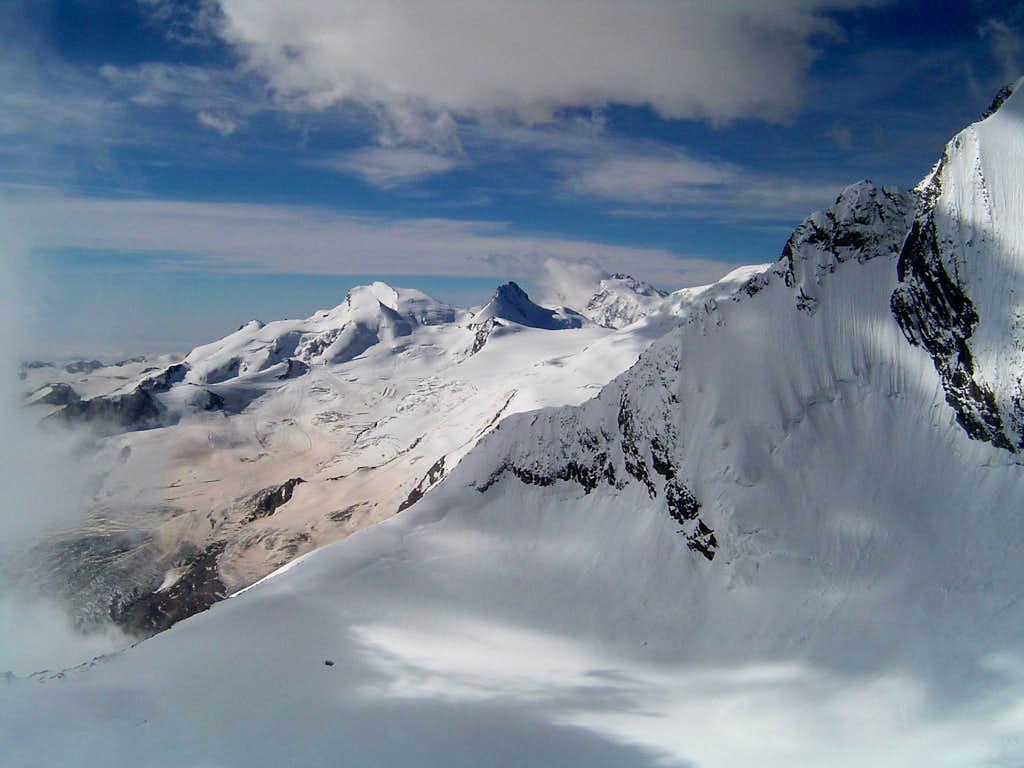 Panorama from windjoch