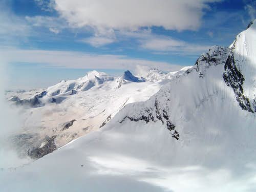 Panorama from windjoch